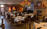 The dining room at Axel's in Chanhassen, Minnesota