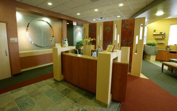 Front desk at The Skin Clinic of Edina Plastic Surgery