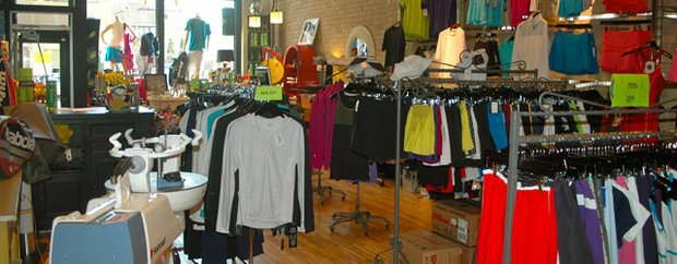 Interior of Tennis on Selby