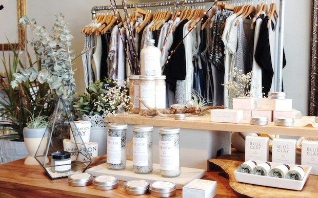 Interior of Parc Boutique in Edina, MN