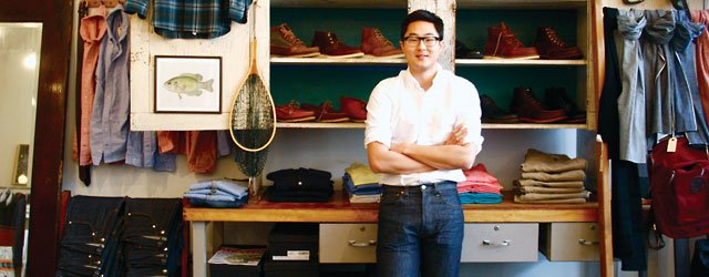 Owner Steve Kang inside his store BlackBlue
