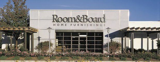 Exterior of Room & Board in Edina
