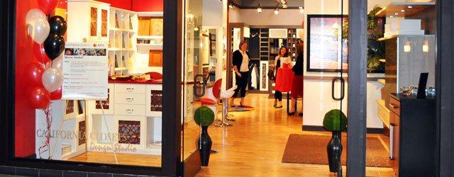 Superior Display Window At California Closets Galleria Edina