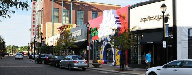 Exterior of Shops at West End St. Louis Park