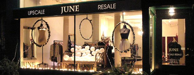 June upscale women's resale boutique