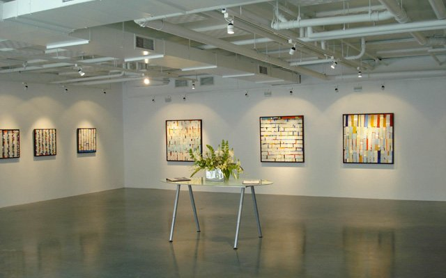 Interior of Circa Gallery Minneapolis