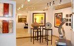 Interior of Art Resources Gallery Edina