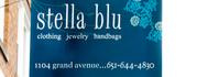 Stella blu sign