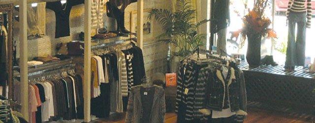 Interior of Martin's store