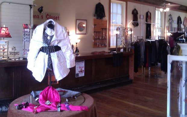 Interior of Anna's Closet in Northfield