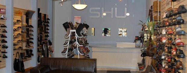 Interior of Shü Global Footwear