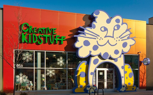 Exterior of Creative Kidstuff