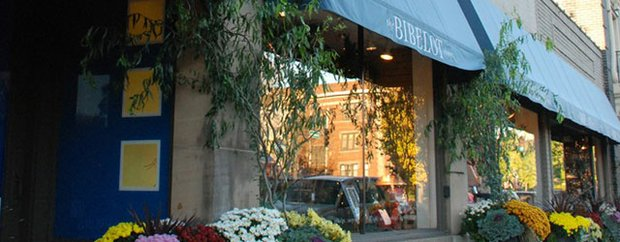 Exterior of Bibelot store
