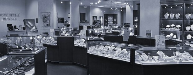 Interior of Contintental Diamond in St. Louis Park, MN