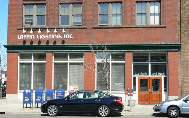 Exterior of Lappin Lighting North Loop Minneapolis