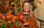 Cindie Sinclair, owner of Camrose Hill Floral in Stillwater