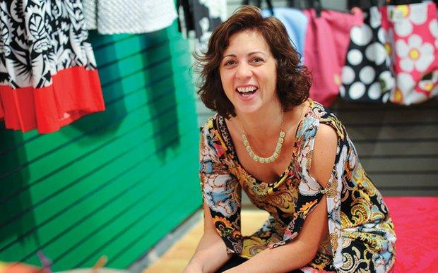 Jill Henderson in her boutique, Poppy