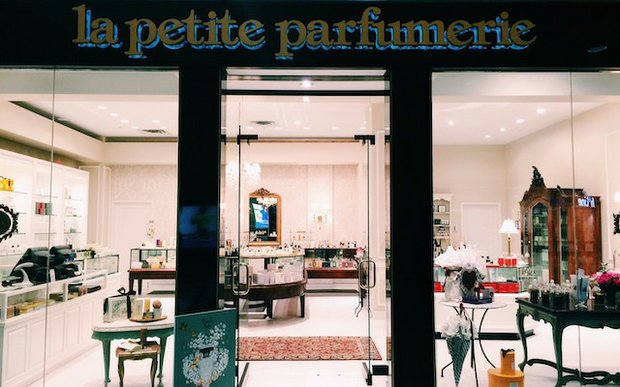 Exterior of La Petite Parfumerie at Southdale Center, Edina
