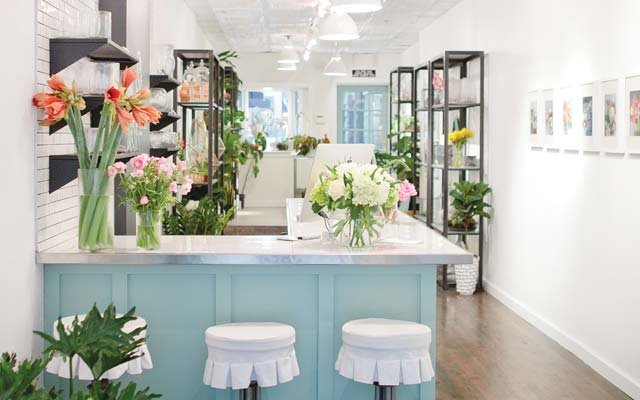 Interior of Spruce Flowers & Home in Edina, MN