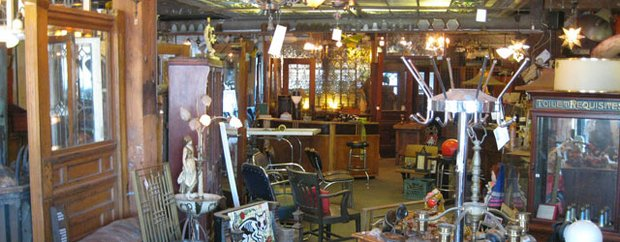 Interior of City Salvage & Architectural Artifacts