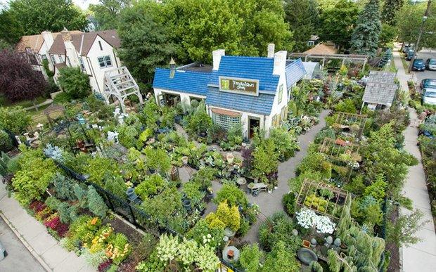 Tangletown Gardens in Minneapolis