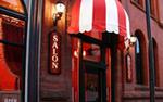 Exterior of Salon Rouge in Minneapolis, Minnesota
