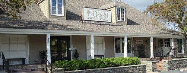 Exterior of P.O.S.H. Wayzata