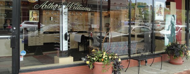 Exterior of Arthur F. Williams Optical St. Paul