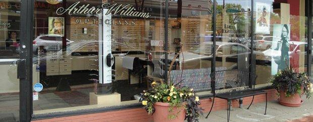 Exterior of Arthur F. Williams Optical St. Paul