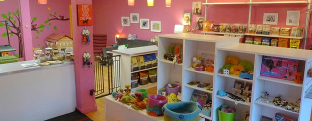 Interior of Bubbles & Ecouture