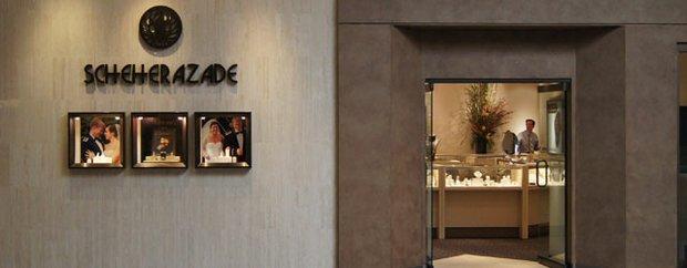 Exterior of Scheherazade Jewelers at Galleria, Edina