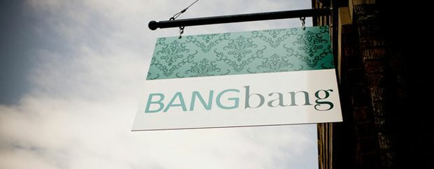 Exterior sign of BANGbang