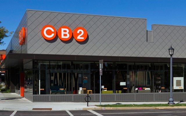 Exterior of CB2 store Uptown, Minneapolis