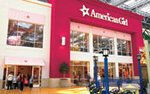 Exterior of the American Girl store at the Mall of America