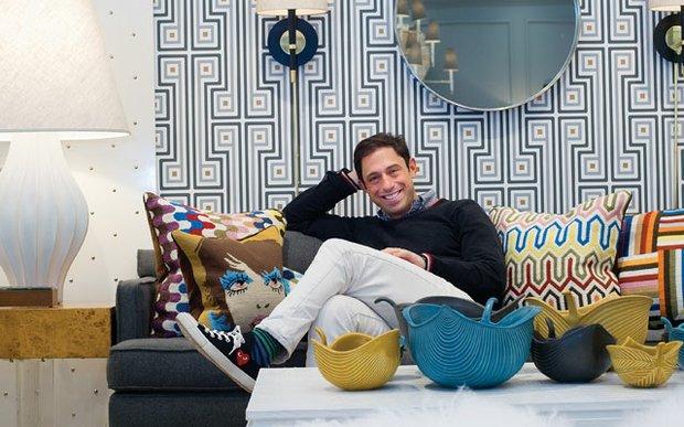 Jonathan Adler in his Uptown, Minneapolis store