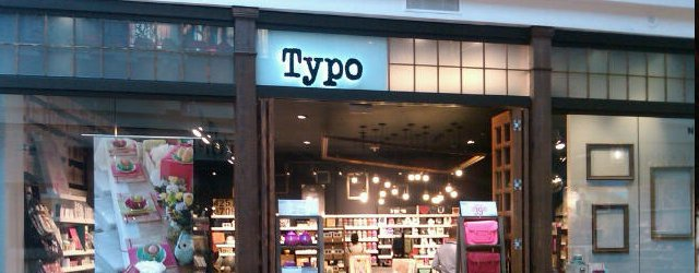 Typo at Mall of America