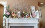 The mantle at Keep in Touch of Burnsville