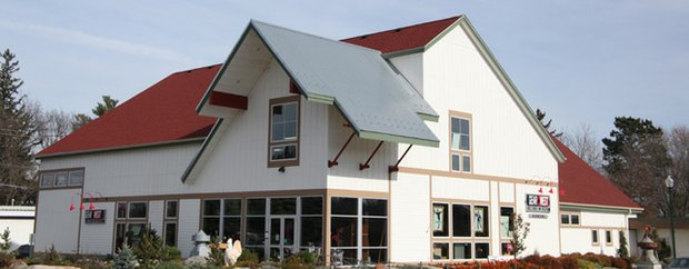 Exterior of Gear West Adrenaline in Long Lake