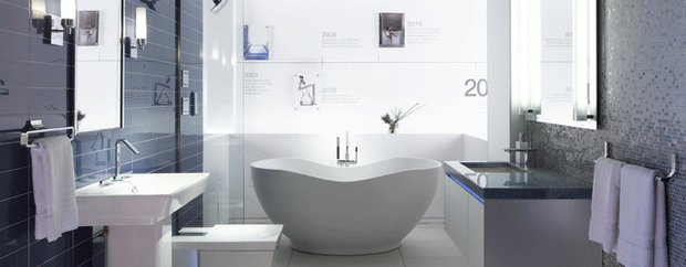 A display at the Kohler Signature Store in Edina, MN