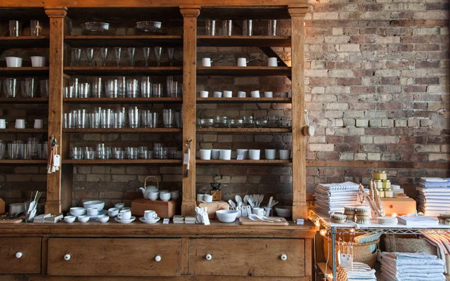 Interior of The Foundry Home Goods in North Loop Minneapolis