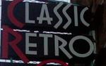 Exterior sign for Classic Retro @ Pete's