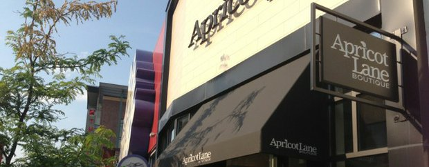 Exterior of Apricot Lane Boutique at Shops at West End