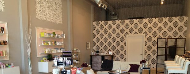 Interior of Blush Beauty Room Minneapolis