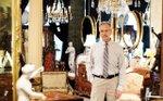 Tony Scornavacco inside Anthony Scornavacco Antiques in St. Paul