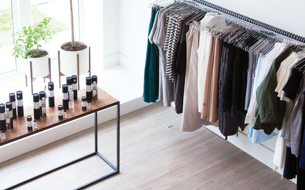 Interior shot of Idun boutique on Selby Ave. in St. Paul