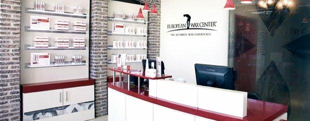 interior of European Wax Center Eden Prairie