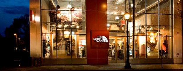 The North Face store Uptown, Minneapolis