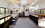 Interior of Stavrakis Jewelers