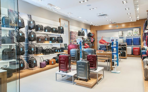 Interior of JS Trunk & Co in the Mall of America
