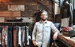 Damon Capetz, co-owner of Atmosfere boutique in Minneapolis